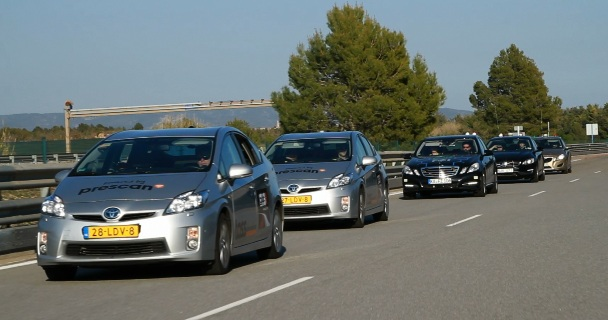 TASS CarLabs GCDC Cooperative Driving