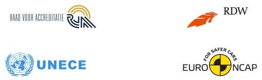ADAS Testing logo's combined
