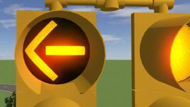 US traffic light