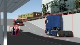 PreScan Bounding Rectangle Sensor