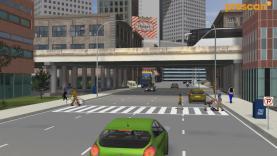 PreScan urban scenario