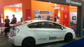 TASS International Prius at IAA2015 booth - small