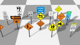 USA traffic sign database