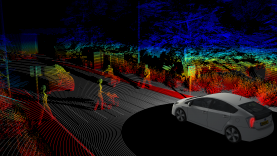 PreScan Point Cloud Sensor