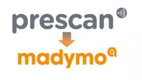 Prescan to MADYMO converter