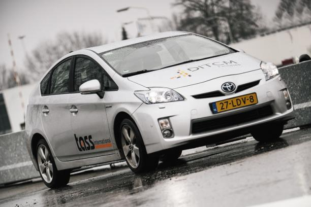 TASS International Prius test Helmond 02